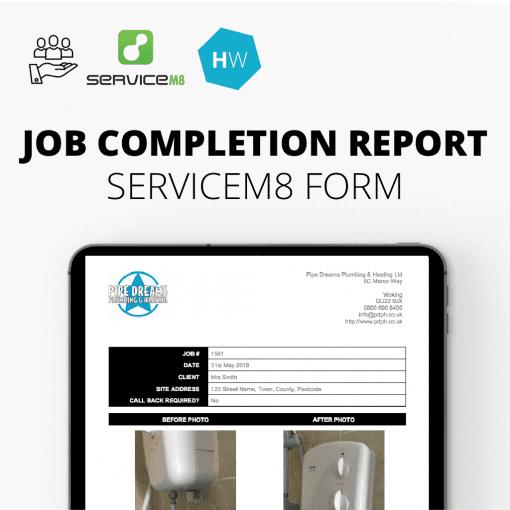ServiceM8 Method Statement Report