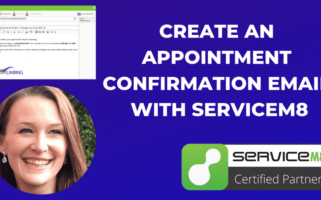 How to Create an Appointment Confirmation Email with ServiceM8 [Video]