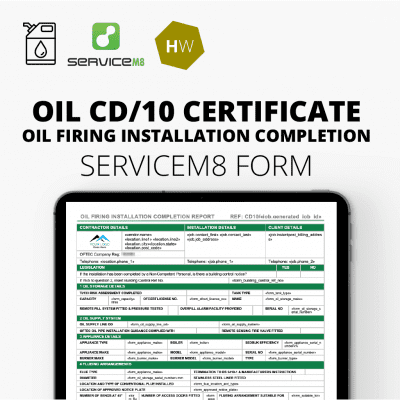 CD10 Oil Firing Installation & Commissioning Report