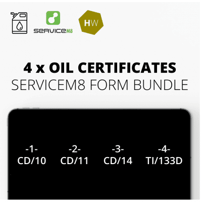 Oil Form Bundle for ServiceM8