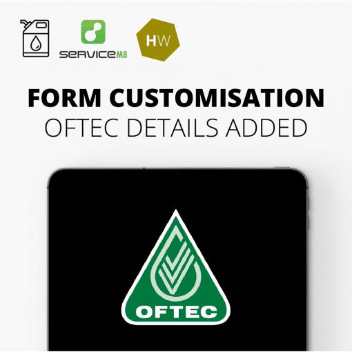 Oil Form Customisation