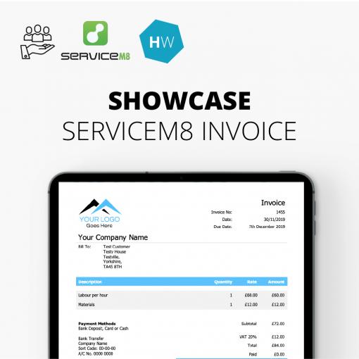 Showcase Invoice Template