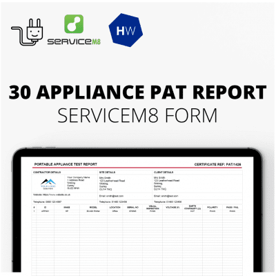 30 Appliance PAT report