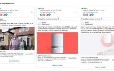 Get ahead of your competition with the Facebook Ad Library