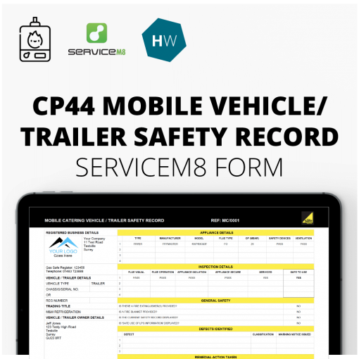CP44 Mobile Vehicle / Trailer Safety Record
