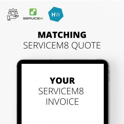 Matching ServiceM8 Quote Template