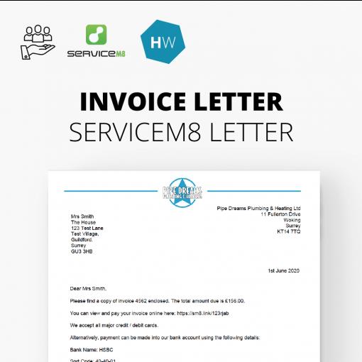 servicem8 letter example