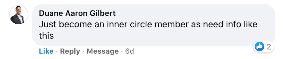 Inner Circle Testimonial