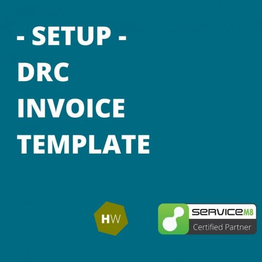 Done for you servicem8 DRC invoice template
